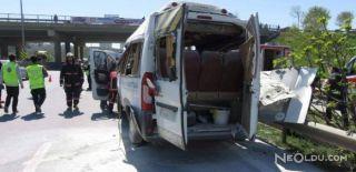 Servis Minibüsünde Patlama: Yaralılar Var