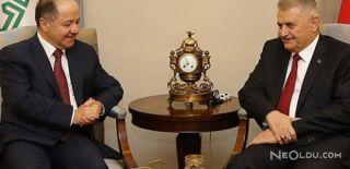 Başbakan Yıldırım Barzani İle Görüştü