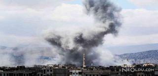 Şam Havalimanı Yakınlarında Büyük Patlama
