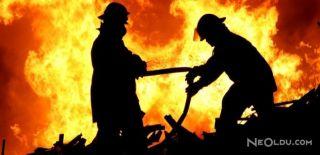 Bisikletçiler Çarşısı'nda Yangın Çıktı
