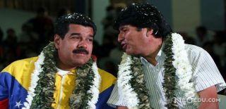 Başkan Maduro'ya Bolivya'dan Destek