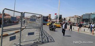 1 Mayıs Öncesi Taksim Kapanıyor