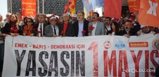 Taksim'e 1 Mayıs'ta İzin Yok! Gözaltılar Var!
