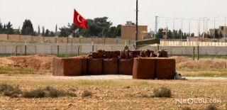 Suriye Sınırında Mevziler Oluşturuldu