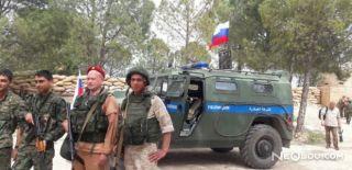 Rusya'dan YPG Terör Örgütüne Destek