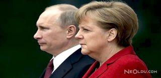 Putin ve Angela Merkel Görüşmesi Bitti