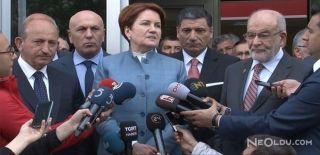 Meral Akşener Saadet Partisi'ni Ziyaret Etti