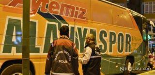 Alanyaspor Takım Otobüsüne Konya'da Saldırı