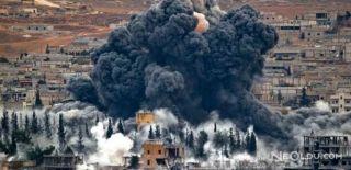 ABD Suriye'ye Bomba Yağdırdığını Açıkladı!