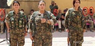 ABD Askerleri, YPG Töreninde Görüntülendi