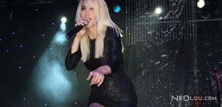 Hande Yener'e Konserde Tekme
