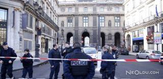 Fransa'da Büyük Panik! Meydan Boşaltıldı!