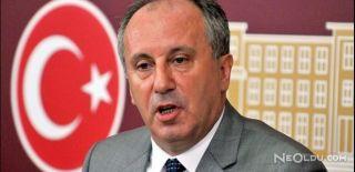 CHP'de İlk Başkan Adayı Muharrem İnce