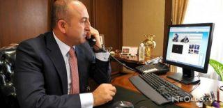 Çavuşoğlu'ndan Katar Telefon Görüşmesi