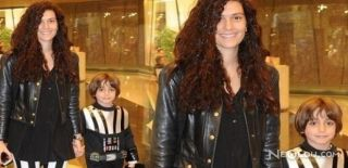Yılın Annesi Ünlü Oyuncu Bergüzar Korel