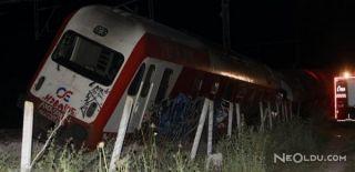 Yunanistan'da Tren Kazası