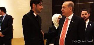 Burak Yılmaz Çin'de Erdoğan'ı Ziyaret Etti