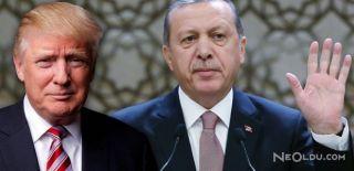 Trump Erdoğan'ı Uğurlar Uğurlamaz Tweet Attı!