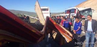 Elazığ'da Otobüs Kazası: 1 Ölü, 30 Yaralı