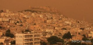 Suriye'den Toz Bulutları!