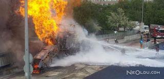 Ankara Adliyesi'nin Doğal Gaz Borusu Patladı
