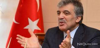 Abdullah Gül'den Suriye Değerlendirmesi