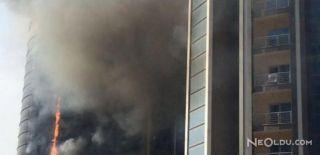 Bursa'da Çıkan Yangın Paniğe Neden Oldu