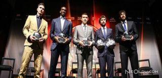 Euroleague'in En İyileri Ödüllerini Aldı
