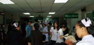 Tayland'daki Hastanede Bomba Patladı