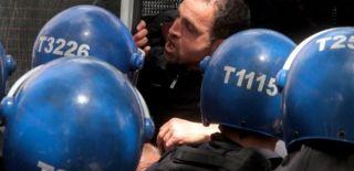 Ankara'da Protestoya Polis Müdahalesi
