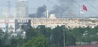 İkitelli OSB'de Depolarda Büyük Yangın