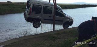 Hafif Ticari Araç Sulama Kanalına Uçtu: 2 Ölü