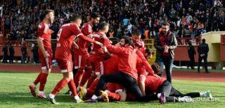 Erzurumspor-Gümüşhanespor: 1-0