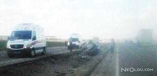 Araç Şarampole Yuvarlandı: 2 Ölü, 1 Yaralı