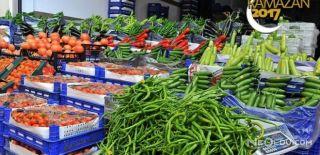 Ramazan Öncesi Meyve Sebze Fiyatlarında Düşüş