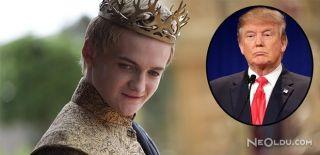 """""""Trump, Joffrey'nin Büyümemiş Hali"""""""
