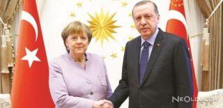 Erdoğan-Merkel Toplantısı Gerçekleşti
