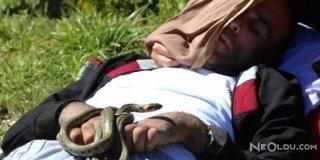 Yılanlı Köy Ziyaretçi Akınına Uğruyor
