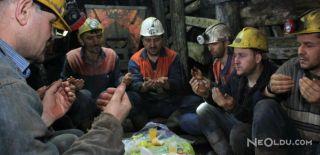 Madenciler, Ramazan Ayının İlk Sahurunu Yaptı