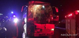 Yolcu Otobüsleri Çarpıştı: 40 Yaralı!