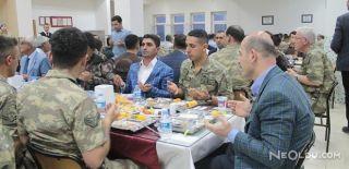 İçişleri Bakanı İftarını Askerlerle Yaptı