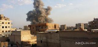 Rakka'da Hava Saldırısı! 300 Sivil Öldü!