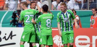 Gomez'li Wolfsburg Ligde Kaldı