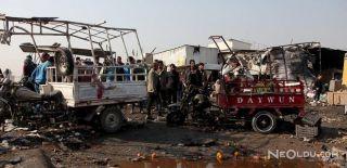 Bağdat'a Bombalı Araçla Saldırı Düzenlendi