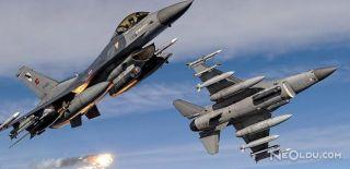 TSK'dan PKK'ya Hava Operasyonu
