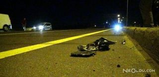 Otomobil Çarpıp Kaçtı: 1 Ölü 1 Yaralı