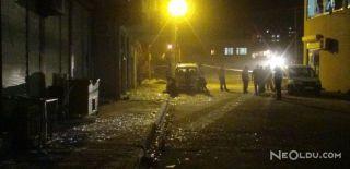 Polis Aracının Geçişi Sırasında Patlama