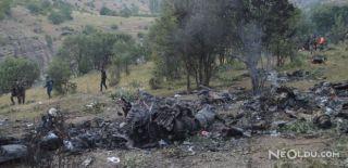 Şırnak'ta Düşen Helikopterin Enkaz Görüntüsü!