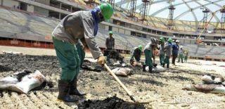 Katar'da İşçi Katliamı