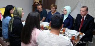 Erdoğan'ın Şehit Evlerine Ziyareti